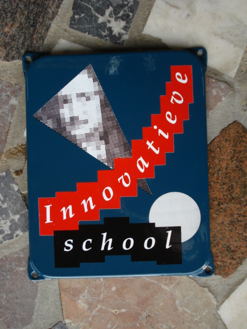 emaille bord innovatieve school